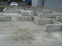 鉄筋コンクリートベタ基礎施工