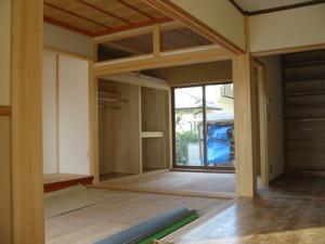 新築の事例 I様邸 和室