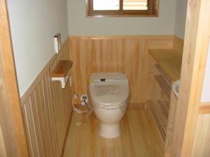 新築の事例 I様邸 トイレ