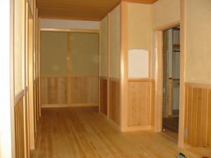 新築の事例 I様邸 玄関ホール